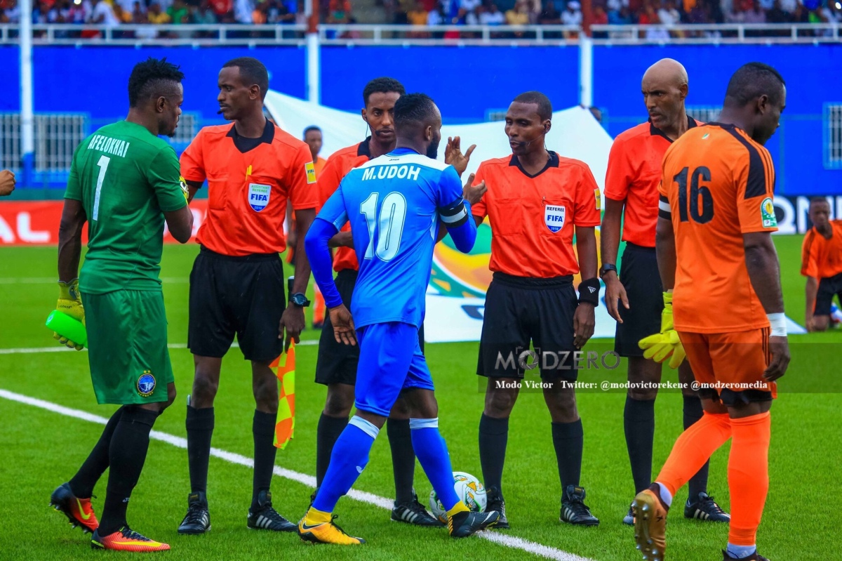 A very unwelcome distraction; Mfon Udoh and Enyimba